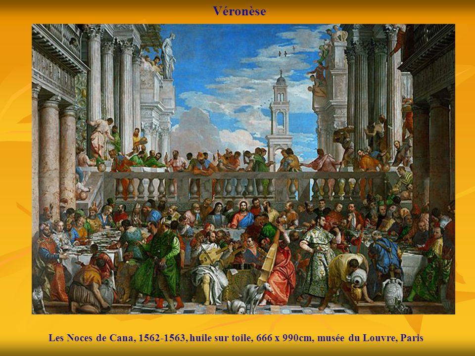 Les Noces de Cana, 1562-1563, huile sur toile, 666 x 990cm, musée du Louvre, Paris Véronèse