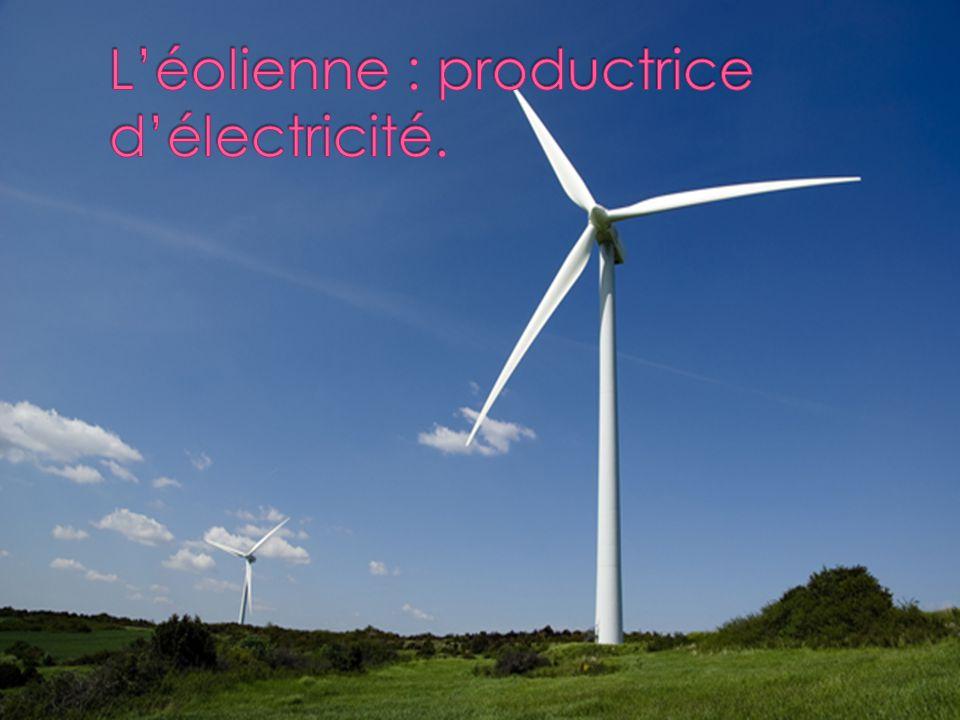  Elles produisent de l'électricité grâce au vent et à un mécanisme dont on vous épargnera les détails.