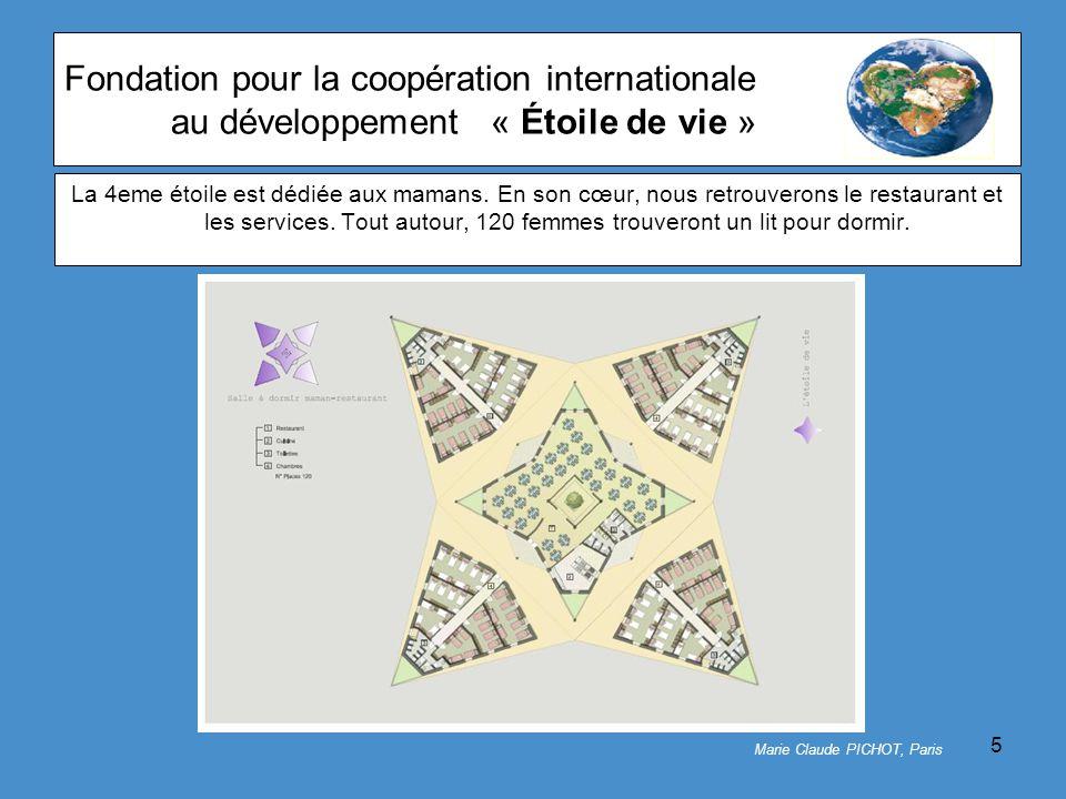 5 Fondation pour la coopération internationale au développement« Étoile de vie » La 4eme étoile est dédiée aux mamans.