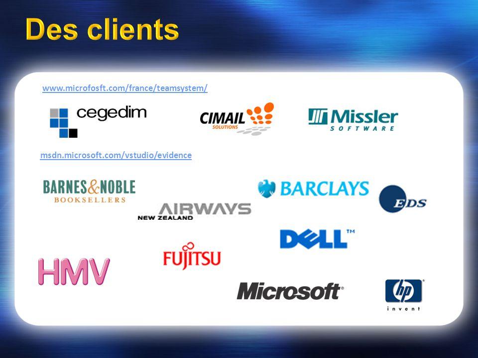 msdn.microsoft.com/vstudio/evidence www.microfosft.com/france/teamsystem/