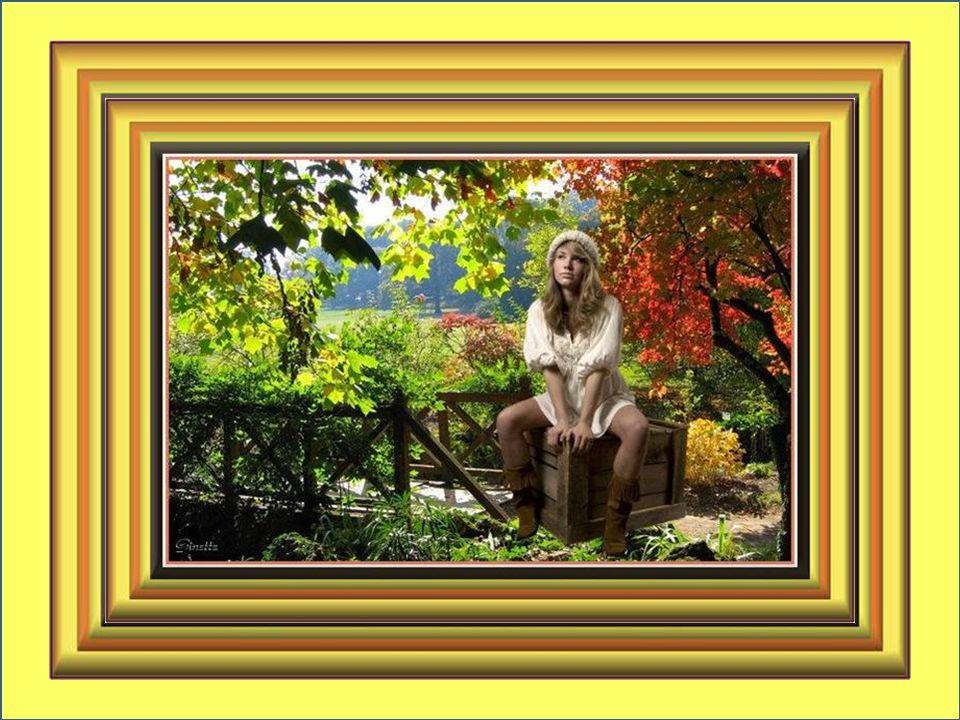 Songes effacés, suaves promesses, Septembre a une ombre de mélancolie; Tu m'effleures comme une caresse; Septembre, tu viens embellir ma vie… Ginette Talbot