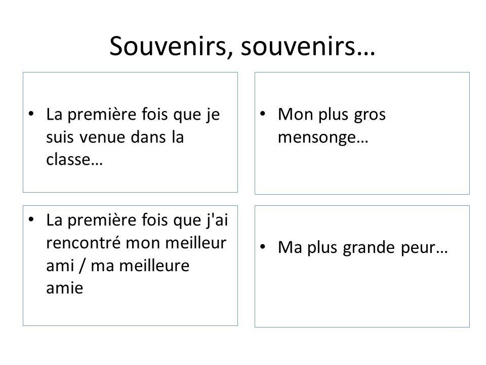 Des potions magiques • La potion pour être le plus fort en français • La potion pour être le plus drôle de la classe • La potion pour être le plus fort en maths • La potion pour être le plus rapide de l'école