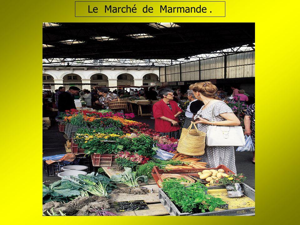 Le Marché de Marmande.