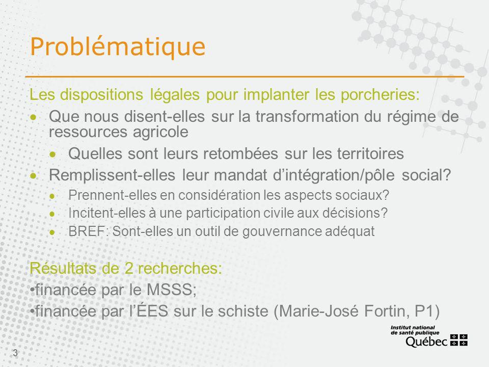 24 Impacts sociaux avérés (Brisson et al 2008):  Modification du capital social: conflits, insécurité, polarisation des relations, perte du lien d 'attachement.