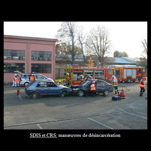 SDIS et CRS: manœuvres de désincarcération
