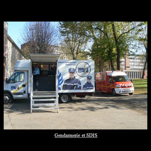 Gendarmerie et SDIS