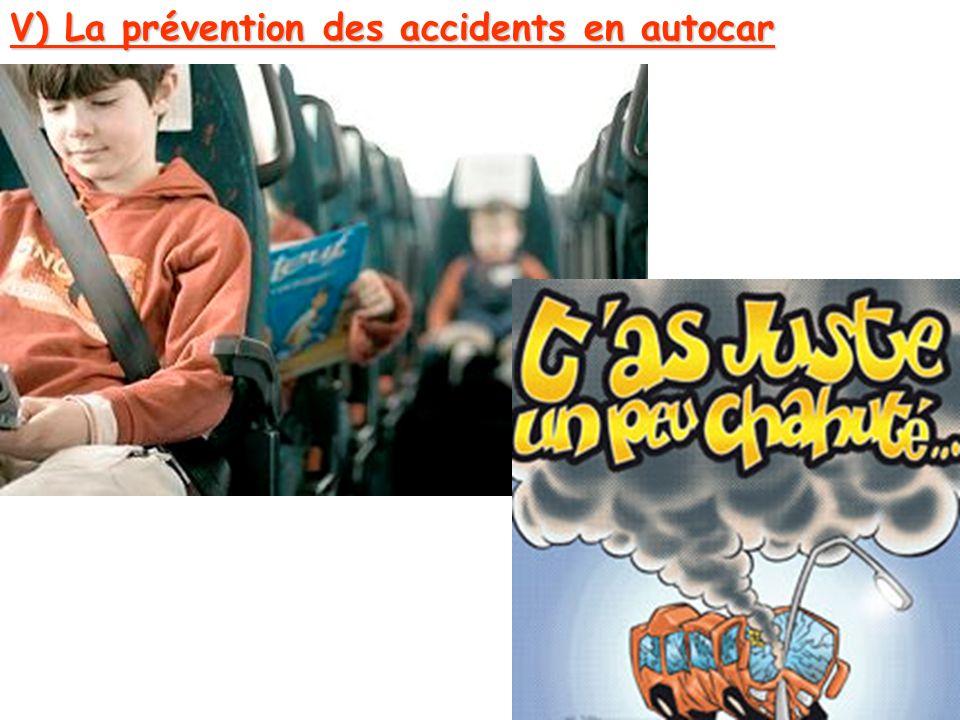 V) La prévention des accidents en autocar