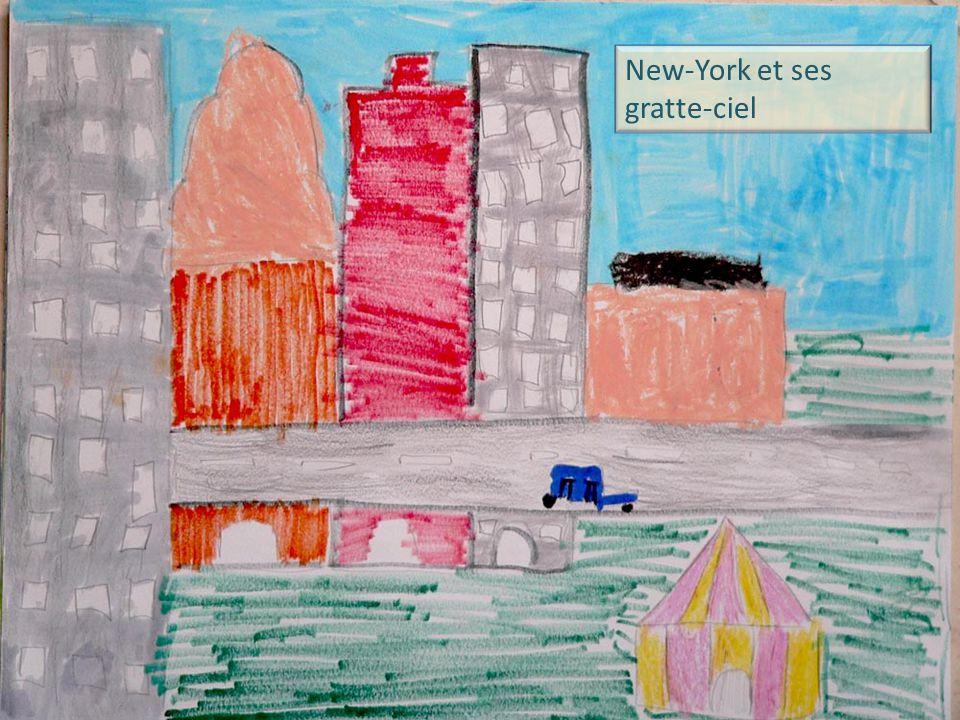 New-York et ses gratte-ciel