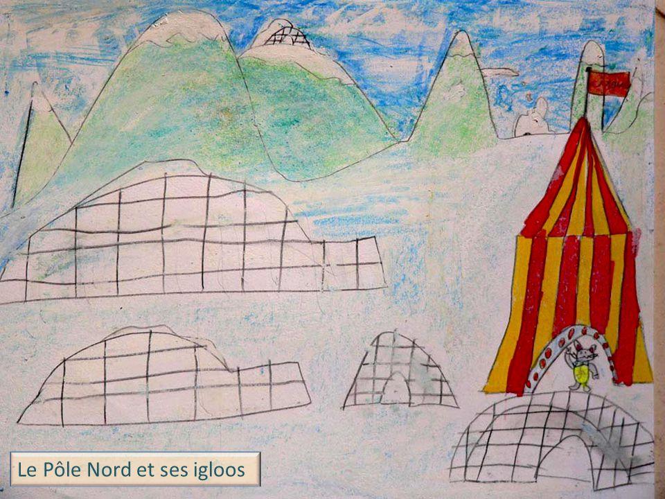 Le Pôle Nord et ses igloos