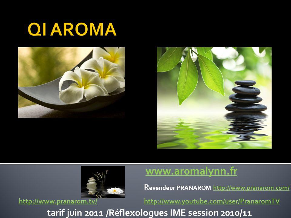 QI AROMA vous propose  des huiles essentielles PRANAROM label HECT, votre garantie de sécurité et d efficacité.