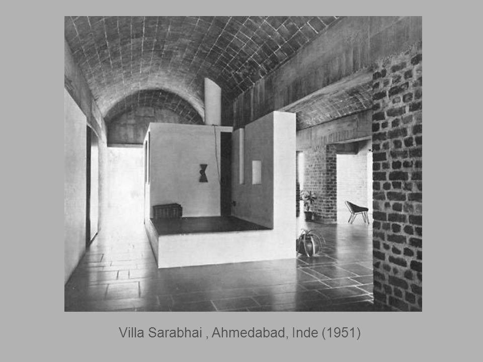 Palais des Filateurs, Ahmedabad, Inde (1951)