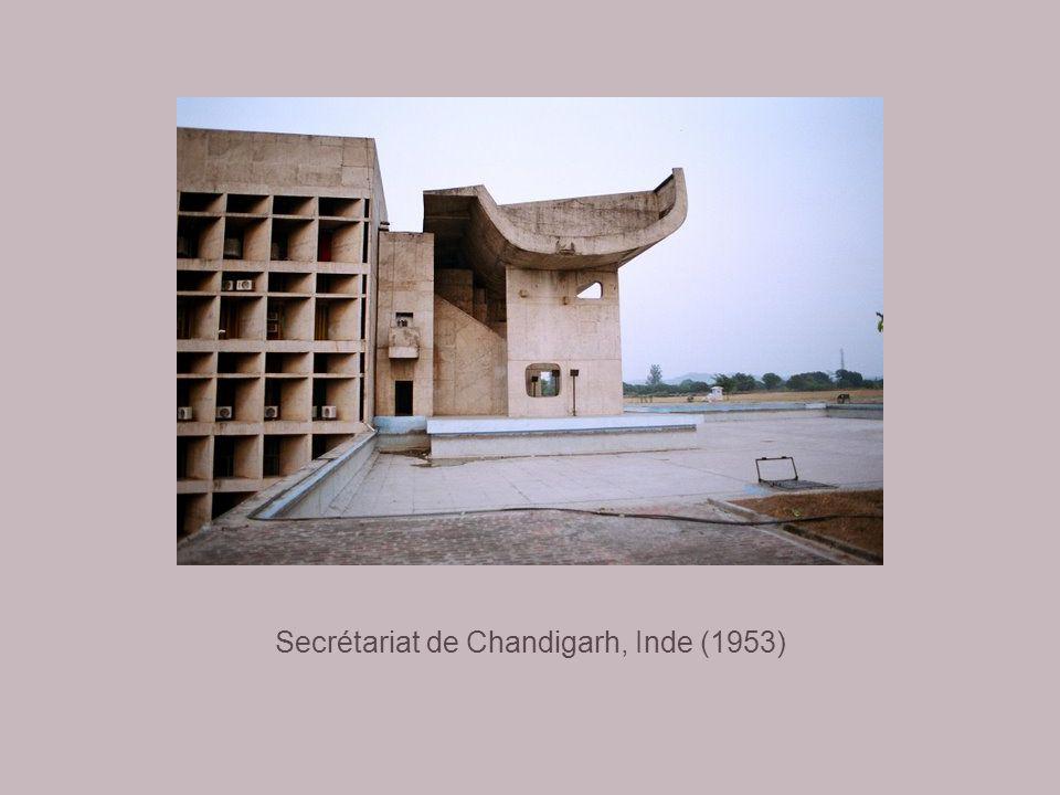 Haute Cour de Chandigarh, Inde (1952)