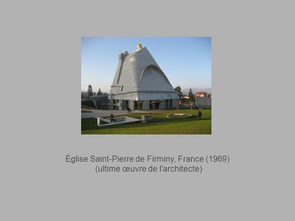 Stade de Firminy-Vert, France (1966)