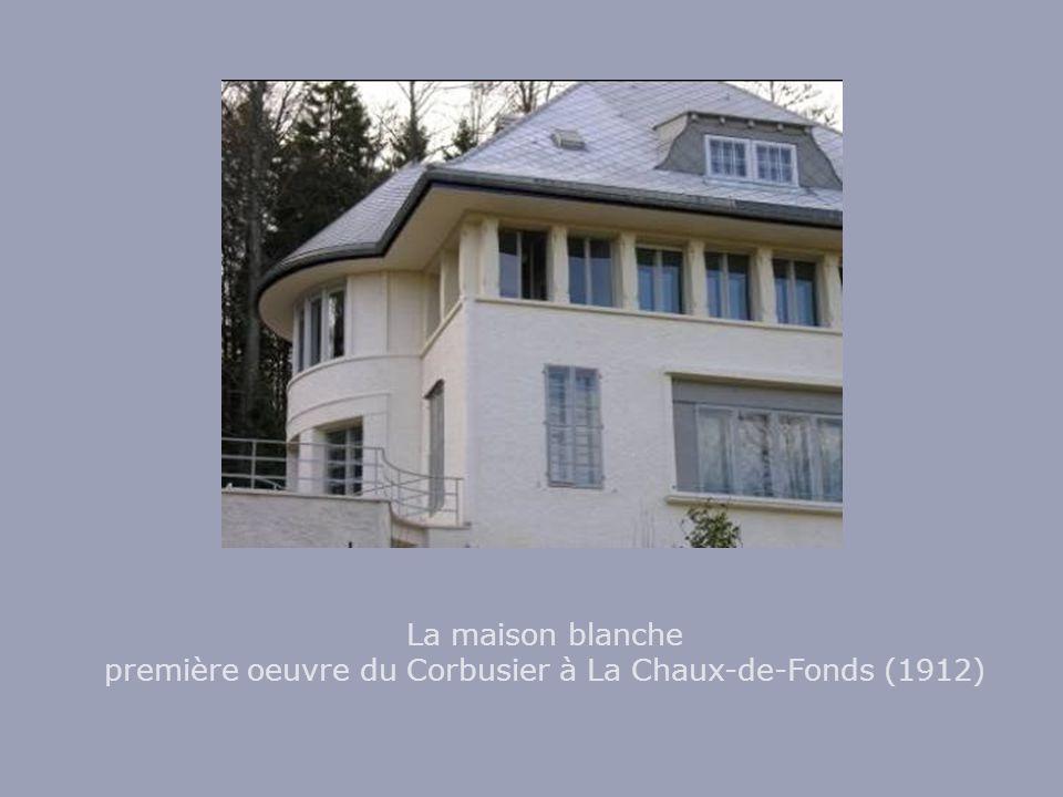 La maison blanche première oeuvre du Corbusier à La Chaux-de-Fonds (1912)