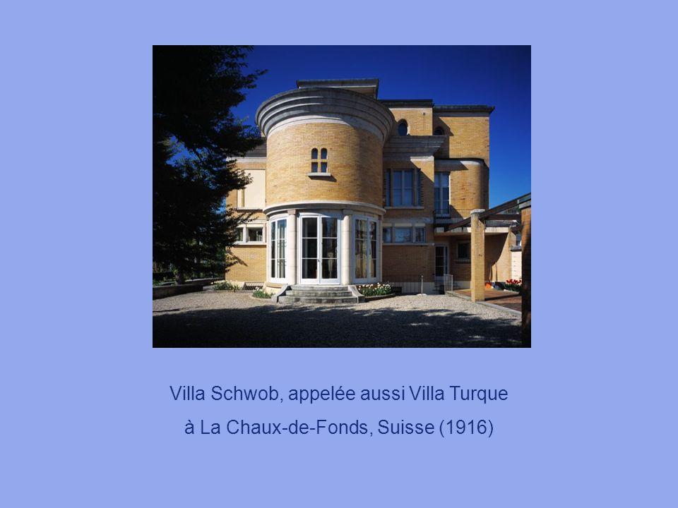 Villa Schwob, appelée aussi Villa Turque à La Chaux-de-Fonds, Suisse (1916)