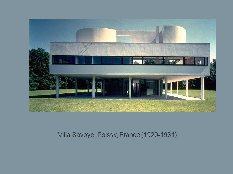 Villa Le Lac, Corseaux-Vevey, Suisse (1923) Construite pour ses parents.
