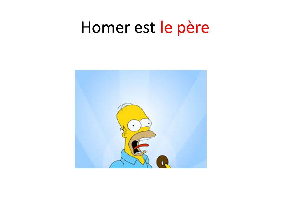 Homer est le père