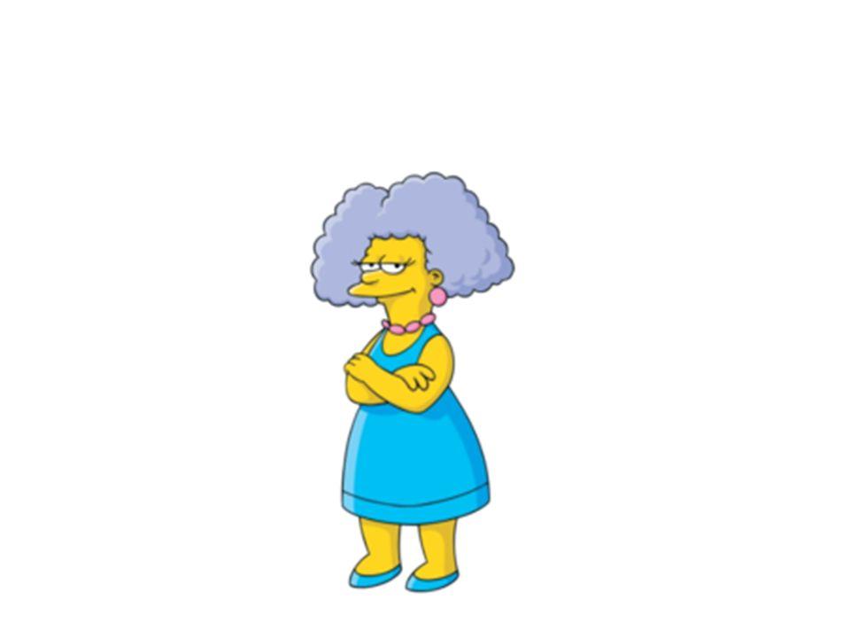 Patty est la tante Elle est la soeur de Marge