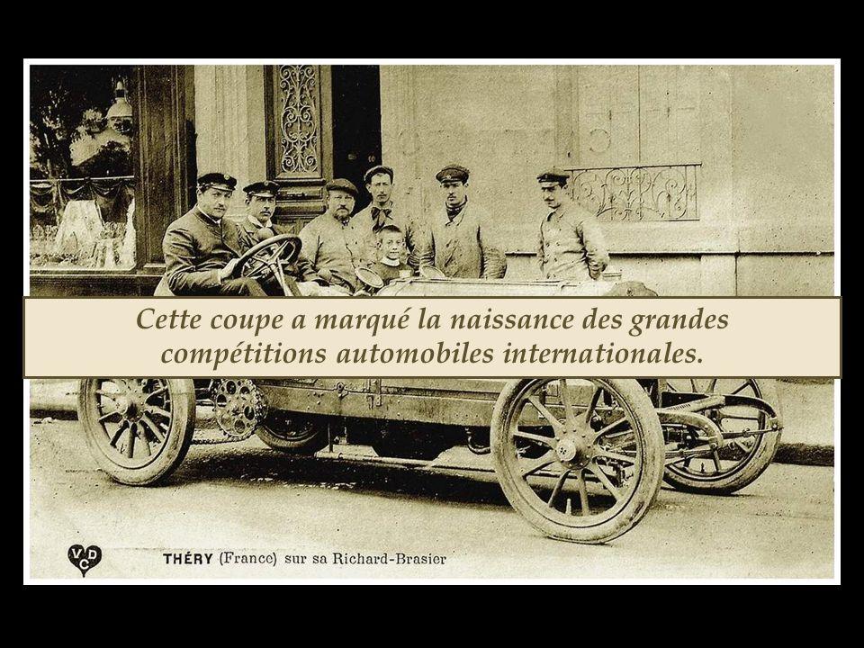 Ce fut la dernière édition de la coupe Gordon Bennett auto. Eusuite, l'Automobile Club de France organisa sa course de Grand Prix sur le circuit de la