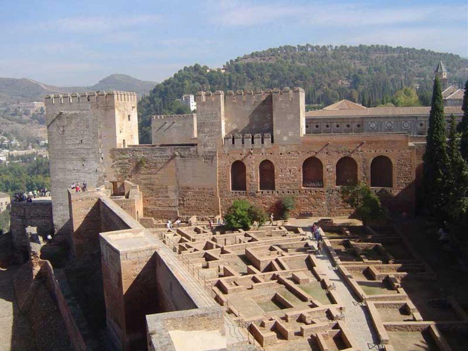 La place d'armes de l'Alcazaba