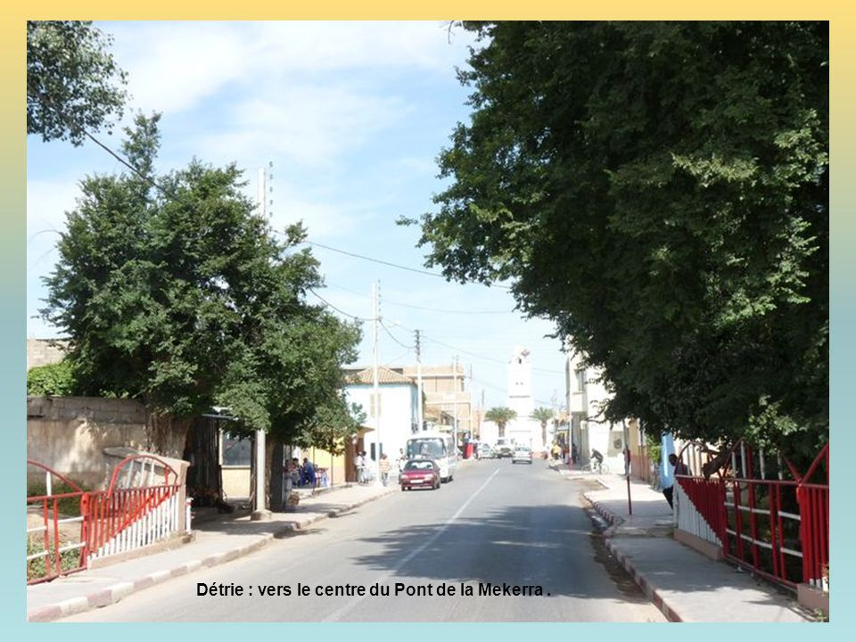 Détrie : l'Oued Mekerra.
