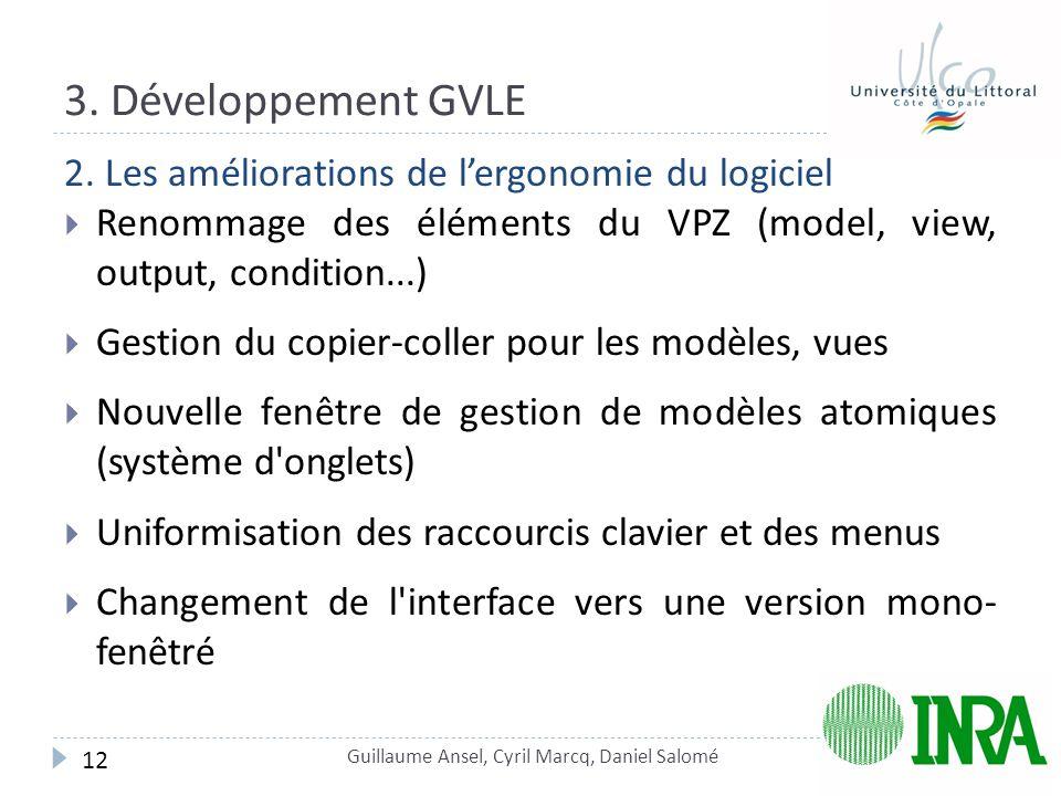 3.Développement GVLE 2.