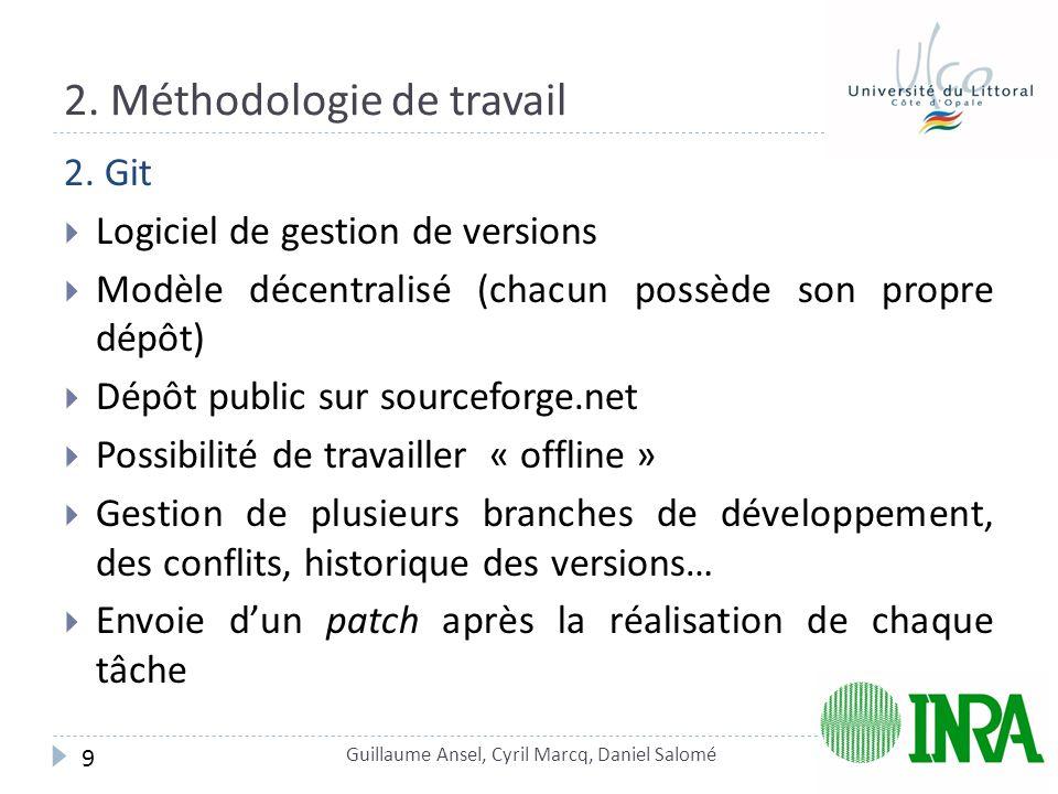 2.Méthodologie de travail 2.