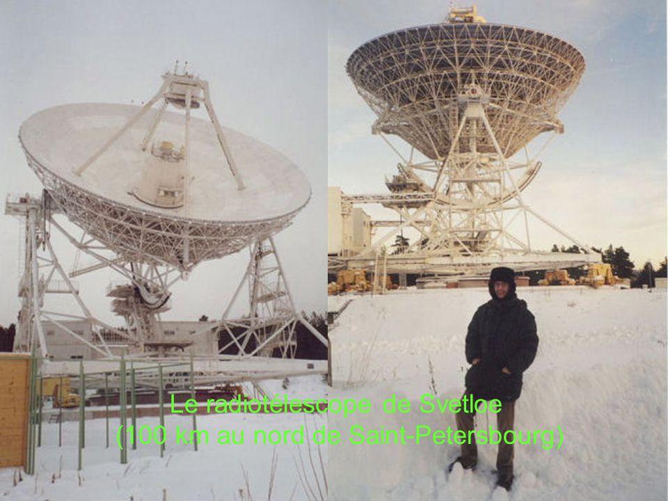 Le radiotélescope de Svetloe (100 km au nord de Saint-Petersbourg) 'avènement