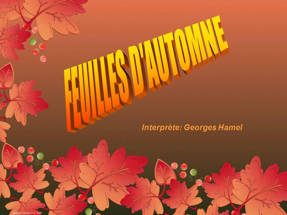 Interprète: Georges Hamel