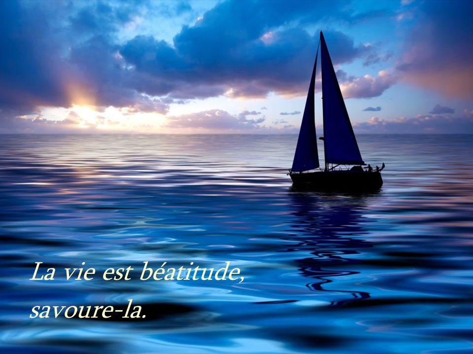 La vie est beauté, admire-la.