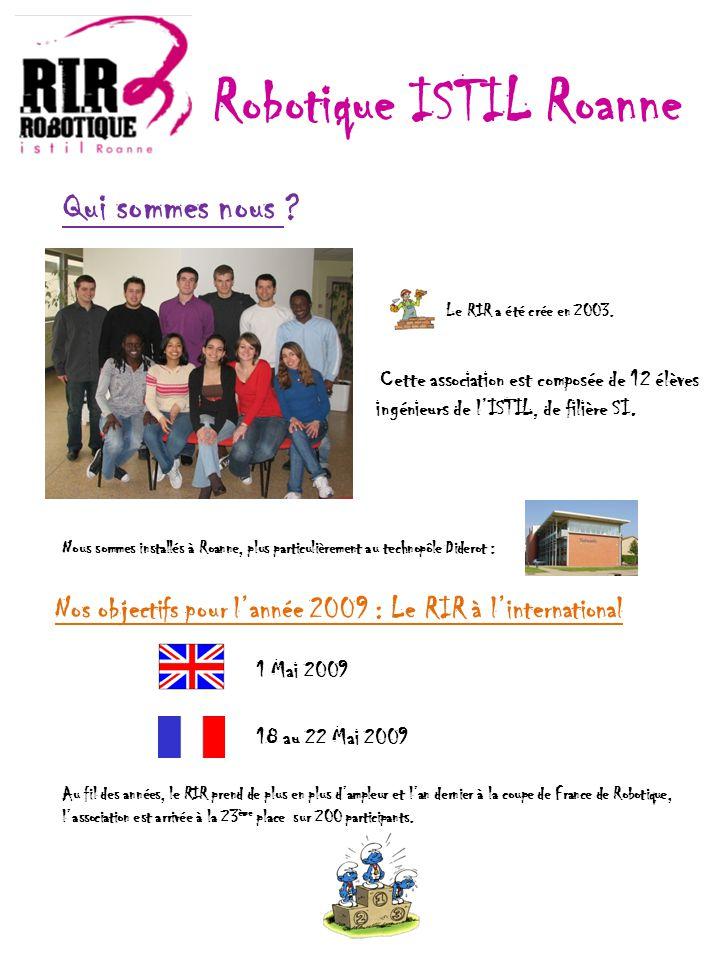 Qui sommes nous ? Le RIR a été crée en 2003. Nous sommes installés à Roanne, plus particulièrement au technopôle Diderot : Au fil des années, le RIR p