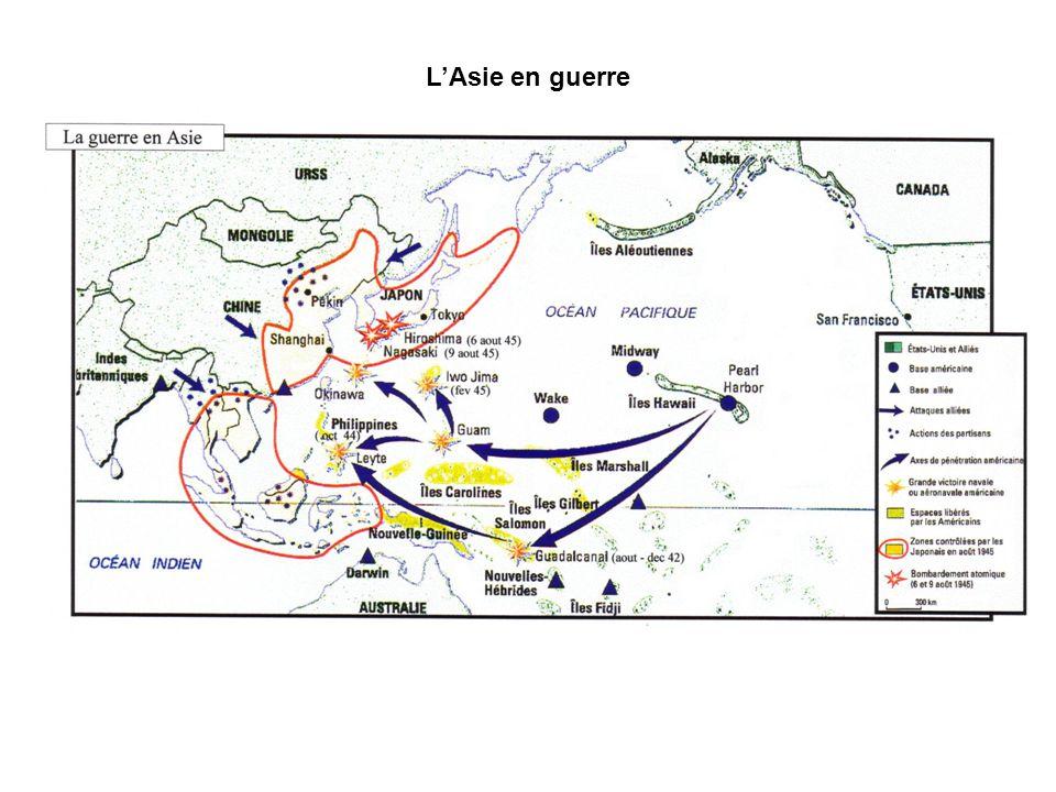 L'Asie en guerre