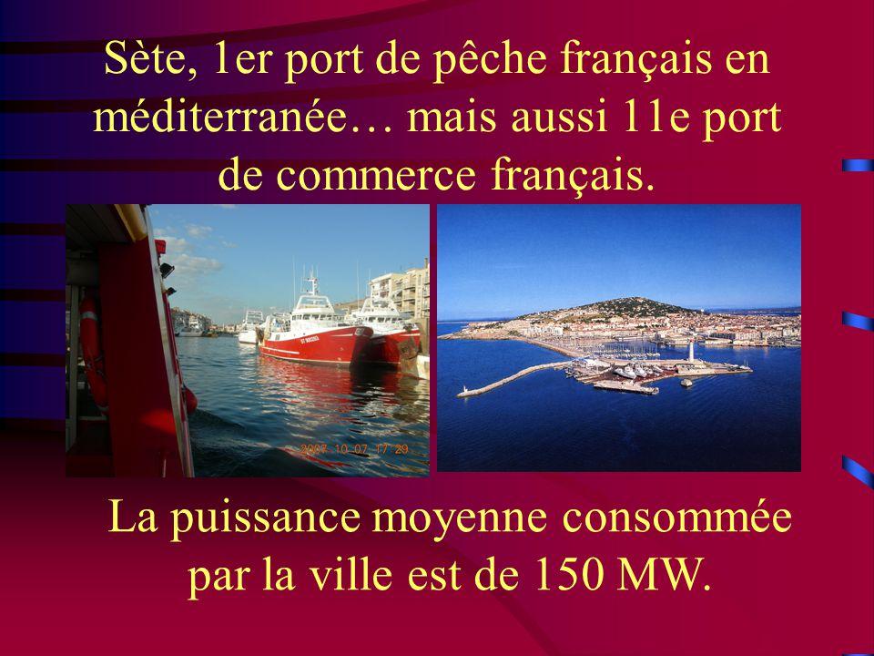 Sète, 1er port de pêche français en méditerranée… mais aussi 11e port de commerce français.