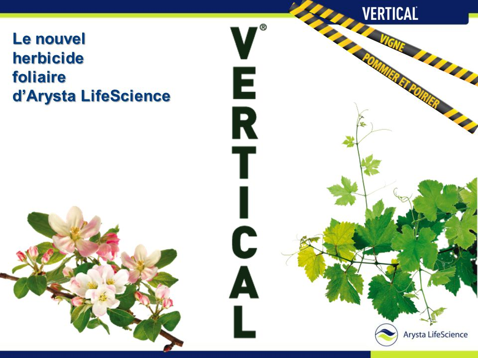 Le nouvel herbicidefoliaire d'Arysta LifeScience