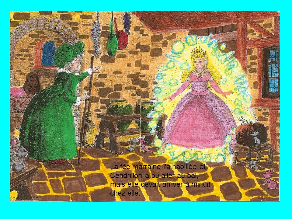 Cendrillon a commencé à pleurer et sa fée marraine a apparu et la fée marraine lui a dit qu'elle ne s'en soucie pas.