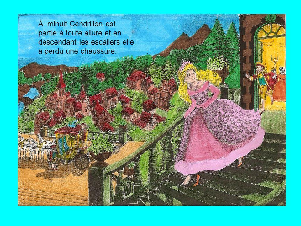Cendrillon a dansé toute la nuit avec le prince et personne ne l'a reconnue.