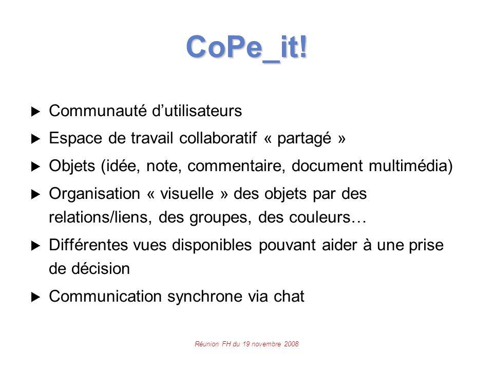 Réunion FH du 19 novembre 2008 CoPe_it.