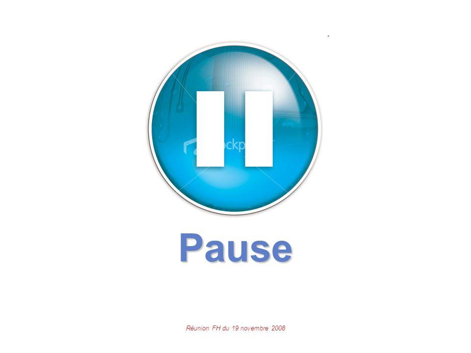 Réunion FH du 19 novembre 2008 Pause
