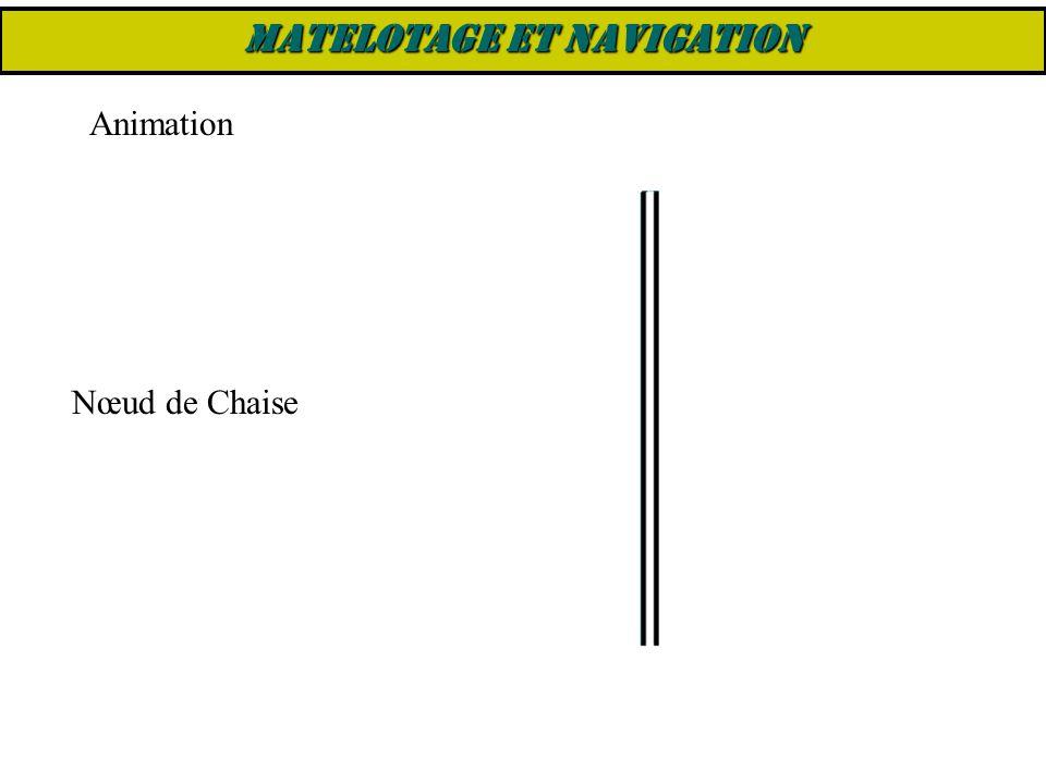 Nœud de Chaise Animation MATELOTAGE ET NAVIGATION