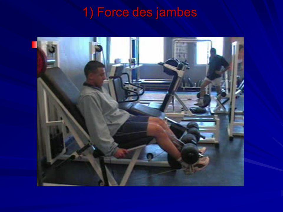 Travail des quadriceps