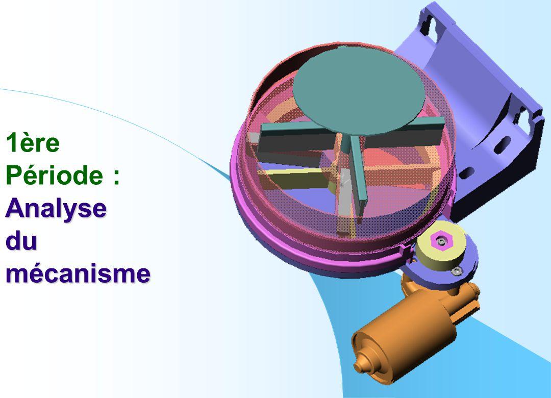 Résultat attendu de l'analyse du mécanisme : Caractériser complètement la liaison existante entre le pignon et l'axe.