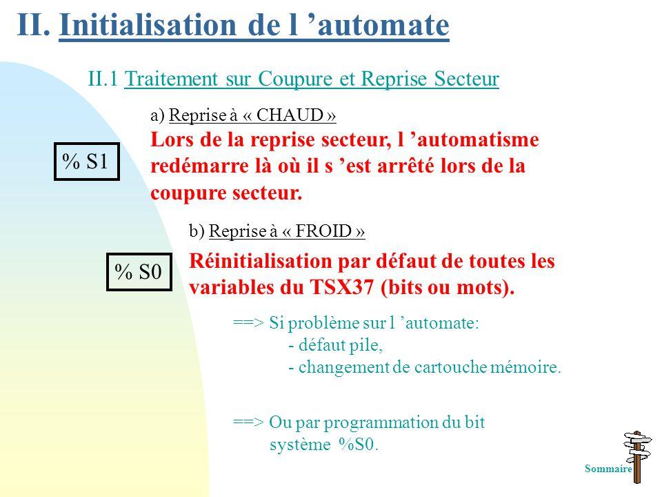 9) Réseau de contacts ( ) Colonnes 1 2 3 4 5 6 7 8 9 10 11 Lignes 1 2 3 4 5 6 7 %I1.0 %I1.1 %I1.2 1 %I1.3 2 %I1.4 3 %Q2.0 5 %I1.5 %I1.6 4 Ordre de scr