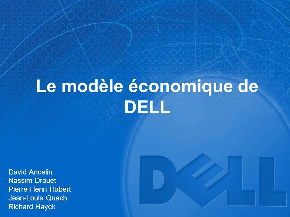 Le modèle économique de DELL David Ancelin Nassim Drouet Pierre-Henri Habert Jean-Louis Quach Richard Hayek