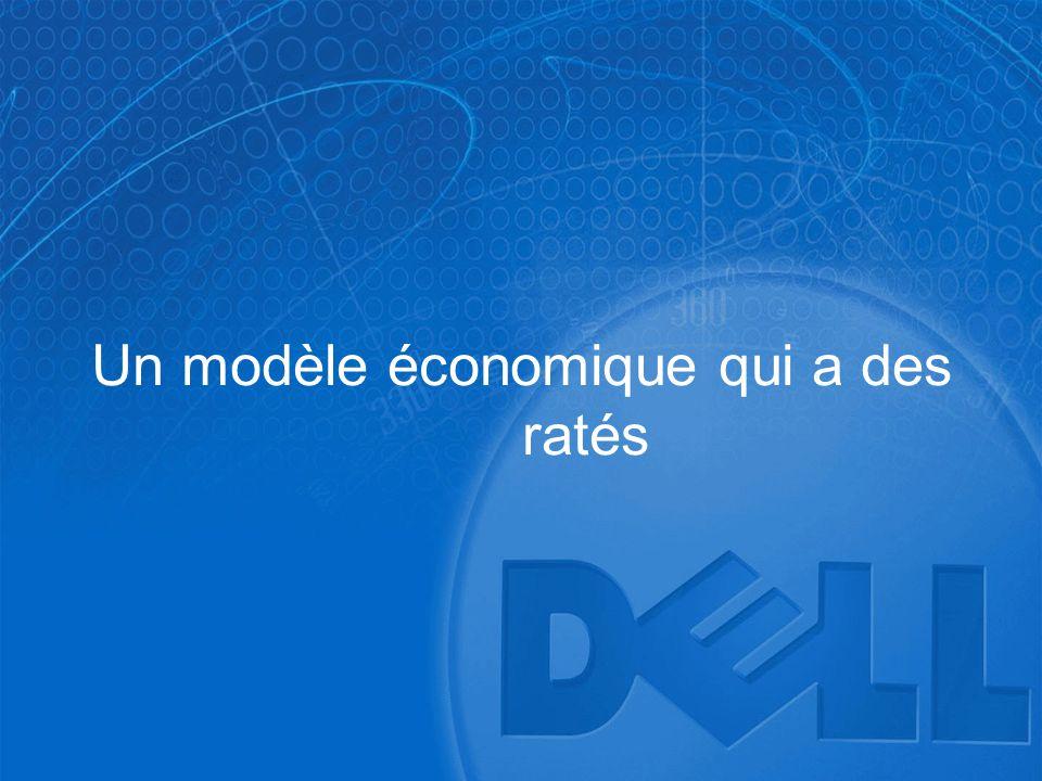 Un modèle économique qui a des ratés