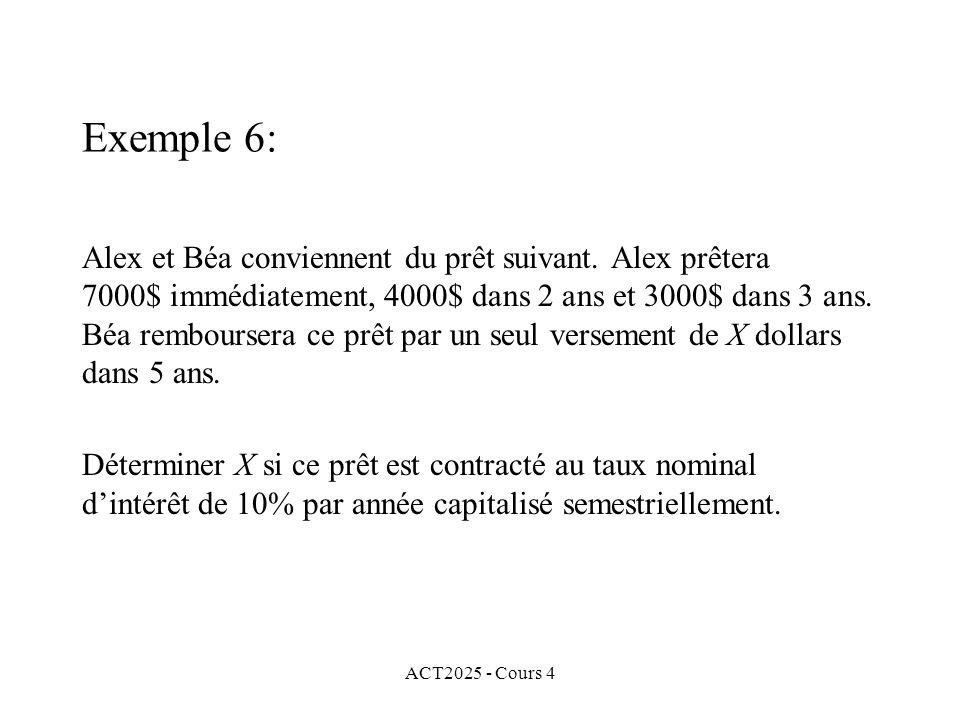 ACT2025 - Cours 4 Alex et Béa conviennent du prêt suivant.