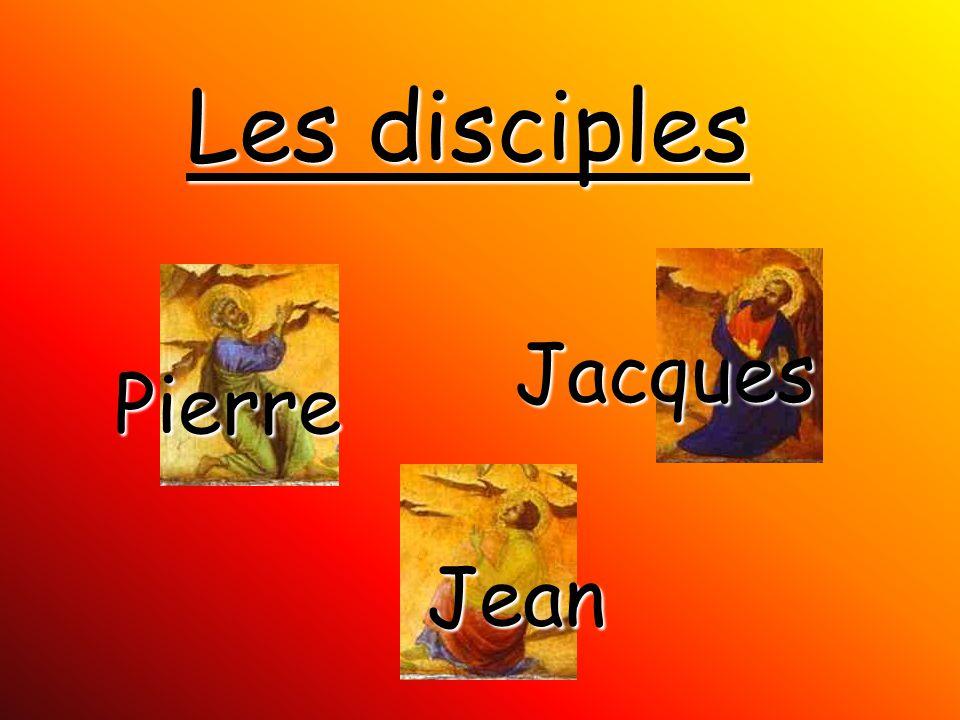 Les disciples Pierre Jacques Jean
