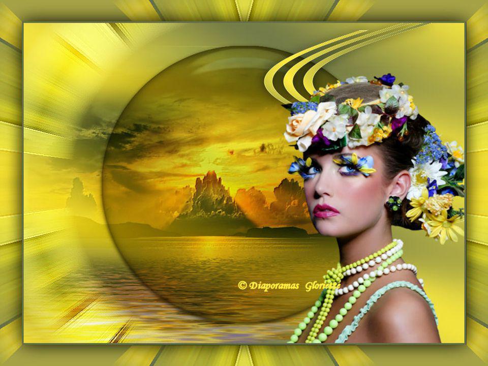 La berceuse du bonheur Se retrouve maintenant au pays des fleurs, De jolis coloris dont j'aime bien me parer. Elles sont douces et nous aimons les car