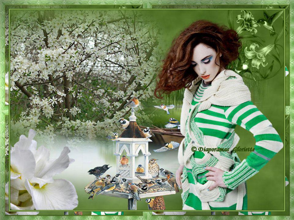 La Berceuse du bonheur Elle aime le printemps Voir les arbres s'éveiller à la vie lentement. Pouvoir admirer les arbres avec leurs jolies fleurs Pouvo