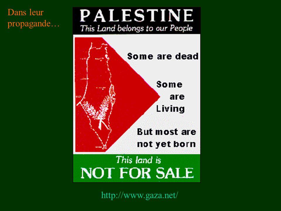 http://www.gaza.net/ Dans leur propagande…