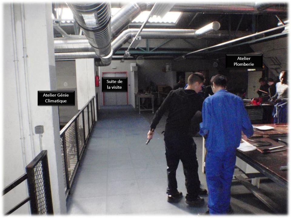 Atelier Génie Climatique Couloir